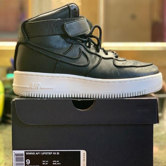 Nike Shoes Air Force 1 High Top Black Womens 9 Poshmark